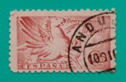 ESPAÑA 1942. PEGASO. USADO - USED. - 1931-Oggi: 2. Rep. - ... Juan Carlos I