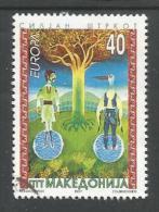 MK 1997-103 CEPT EUROPA, MAKEDONIA, 1 X 1v, Used - Macedonia