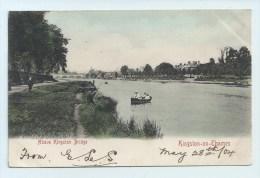 Kingston-on-Thames - Above Kingston Bridge - Undivided Back - Surrey