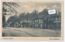 CPA -  Allemagne - Lübtheen Hindenburgstrasse - Duitsland