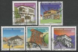 MK 1998-116-20 DEFINITIVE, MAKEDONIA, 1 X 5v, Used - Mazedonien