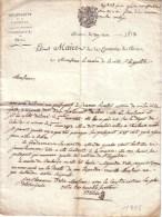 CORREZE - L.A.S. DU MAIRE DE BRIVE AU MAIRE DE SAINT HIPPOLITE - DEMANDE DE RENSEIGNEMENTS SUR JEANNE ROUSSEL - 1813 - Autographs