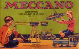 Manuel D´Instruction 3 MECCANO - Meccano