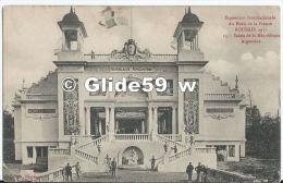 Exposition Internationale Du Nord De La France - ROUBAIX 1911 - Palais De La République Argentine (animée) - N° 15 - Roubaix