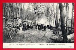 Campement De Nos Artilleurs Dans Les Forêts De La Woëvre.  1914-15 - Guerra 1914-18