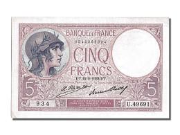 5 Francs Type Violet - 1871-1952 Anciens Francs Circulés Au XXème
