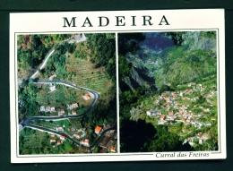 PORTUGAL  -  Madeira  Curral Das Freiras  Dual View  Used Postcard As Scans - Madeira