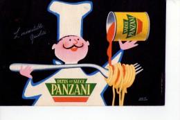 Pâtes Et Sauce  PANZANI - Publicité
