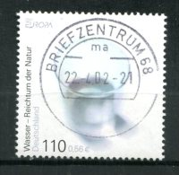 "Germany,Allemagne 200! Mi. Nr.2185 ""Europa-Lebensspender Wasser""1 Wert Used"