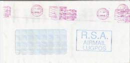 EMA AFRIQUE DU SUD SOUTH AFRICA SUID AFRIKA 1993 JOHANNESBURG RSA AIRMAL LUGPOS EMPREINTE CONTINUE TRES ENCREE - Afrique Du Sud (1961-...)