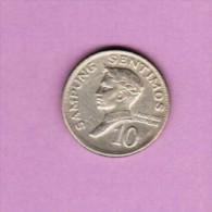 PHILIPPINES  10 SENTIMOS 1970 (KM # 198) - Philippines