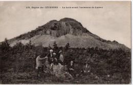 Région Des Cévennes, La Halte Avant L'ascension Du Lizieux - France