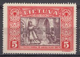 Lithuania Litauen 1932 Mi#332 A Mint Hinged