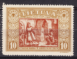 Lithuania Litauen 1932 Mi#333 A Mint Hinged