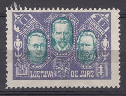 Lithuania Litauen 1922 Mi#137 Mint Hinged - Lituanie