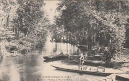 77 - COMBS-la-VILLE (S-et-M.) - Bords De L'Yerres à Vaux-la-Reine. - Combs La Ville