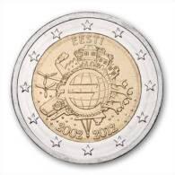 2 EUR 2012 - ESTLAND UNC - 10 Jaar Euro 2002-2012 - Estonie