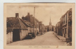 CPSM LIGNE (Loire Atlantique) - Grande Rue - Ligné