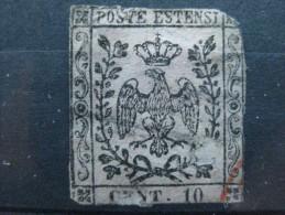 Timbre Italie : Modème 1852 Deuxième Choix  & - Modène