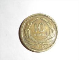 TURQUIE  10 KURUSH 1949  -KM.888  - LAITON  -  TB - Turquie