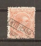 España/Spain-(usado) - Edifil  225 - Yvert  208 (o) - 1889-1931 Reino: Alfonso XIII