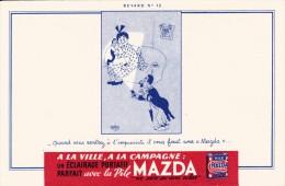 Pile MAZDA - Illustrateur Dubout  - Format 13,5 X 21 Cm - Scan Recto-verso - Batterien