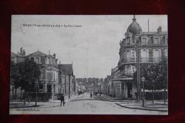ROMILLY SUR SEINE - La Rue CARNOT - Romilly-sur-Seine