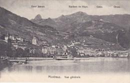 MONTREUX    SCHIFF  BOAT - VD Vaud