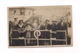 CARTE PHOTO PAQUEBOT LE NORMANDIE - - Passagiersschepen