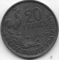 20 Francs 1950 B - Frankrijk