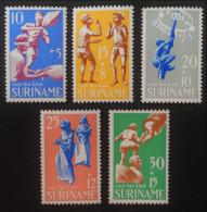 SURTAXE AU PROFIT DE L'ENFANCE 1969 - NEUFS ** - YT 502/06 - MI 564/68 - Surinam