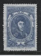 Argentina 1967. Scott #827 (U) General Jose De San Martin - Argentine