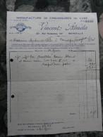 """Manufacture De Chaussures De Luxe Vincent Almela """"ALVIN""""   Marseille 1932 - France"""
