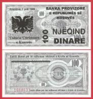 Serbia - Kosovo 100 Dinara 1999 UNC - Serbia
