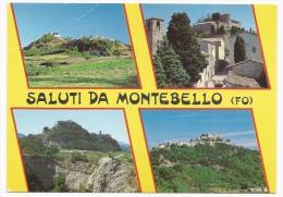 Saluti Da Montebello - Rimini - H2933 - Rimini