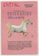 Astrologie Chinoise. Le Cheval. Illustration Originale J.F.R.  ESP Paris - Astrologie