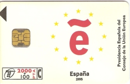 Télécarte - Espagne - Telefonica - ESPANA 1995 - Telefonkarten