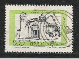 Argentina 1978. Scott #1173 (U) Candonga Chapel, Cordoba - Argentine