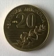 Monnaies - Grèce - 20 Drachmes 1994 - Superbe +++ - - Grèce