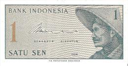 Indonesia - Pick 90 - 1 Sen 1964 - Unc - Indonesia