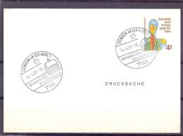 Deutsche Bundespost -  Aufstrebende Stadt Homo Steinheimensis - Steinheim An Der Murr 14/4/81( RM10073) - Préhistoire