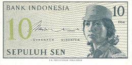 Indonesia - Pick 92 - 10 Sen 1964 - Unc - Indonésie