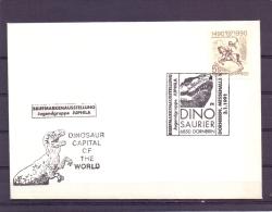 Rep. Österreich - DINO Saurier - Dornbirn 3/1/1991   (RM10196) - Postzegels