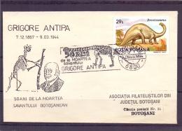 Posta Romana -50 Ani De La Moartea Savantului Botosanean -  Botosani 9/3/1994  (RM10233) - Timbres