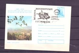 Posta Romana - Muzeul Mineritului  - Petrosani 1/3/1982   (RM10247) - Timbres