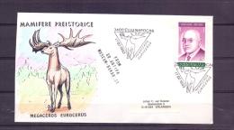 Posta Romana - Megaceros Eurocerus - Clujnapocas 17/2/1993  (RM10251) - Timbres