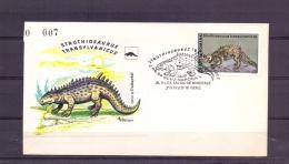 Posta Romana - Struthiosaurus Transylvanicus - Cluj Napoca 2/6/94  (RM10252) - Postzegels