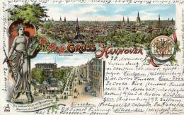 ALLEMAGNE(HANNOVER) GRUSS - Hannover