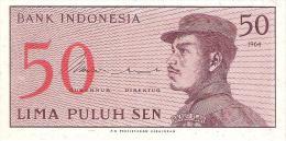 Indonesia - Pick 94 - 50 Sen 1964 - Unc - Indonésie