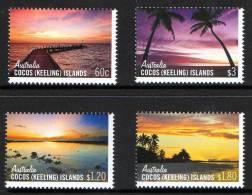 Cocos Islands 2012 Skies Of Cocos Set Of 4 MNH - Cocos (Keeling) Islands